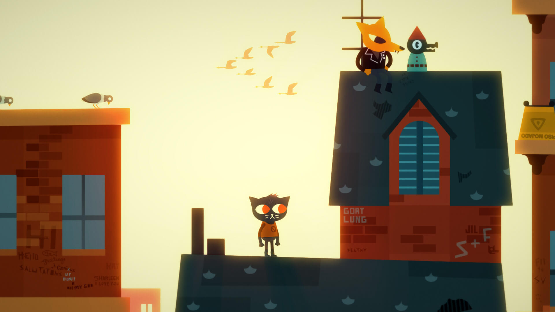 Screenshot de Night in the Woods