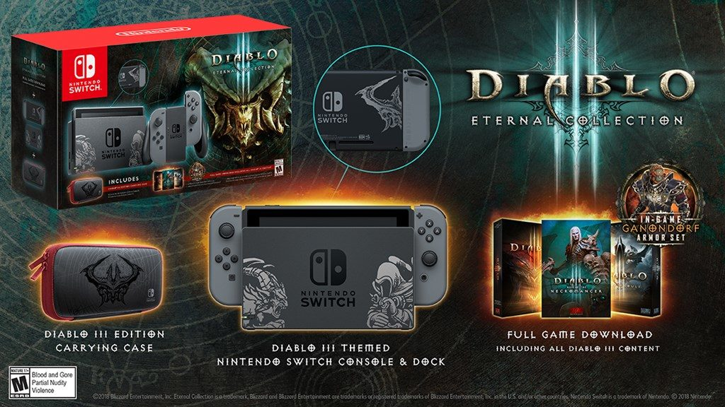 Nintendo Switch terá edição especial com Diablo III: Eternal Collection