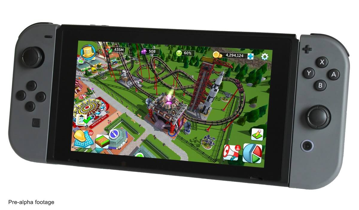 RollerCoaster Tycoon para Nintendo Switch