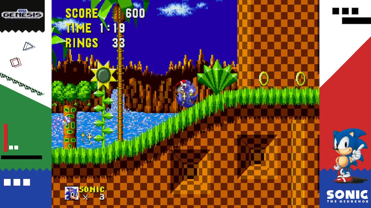 Screenshot de Sega Ages: Sonic