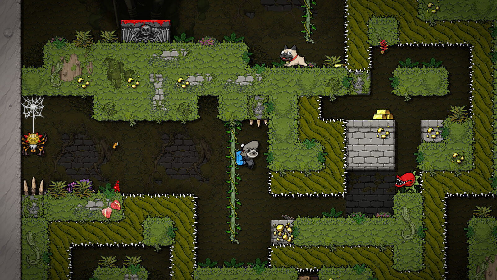 Screenshot de Spelunky 2
