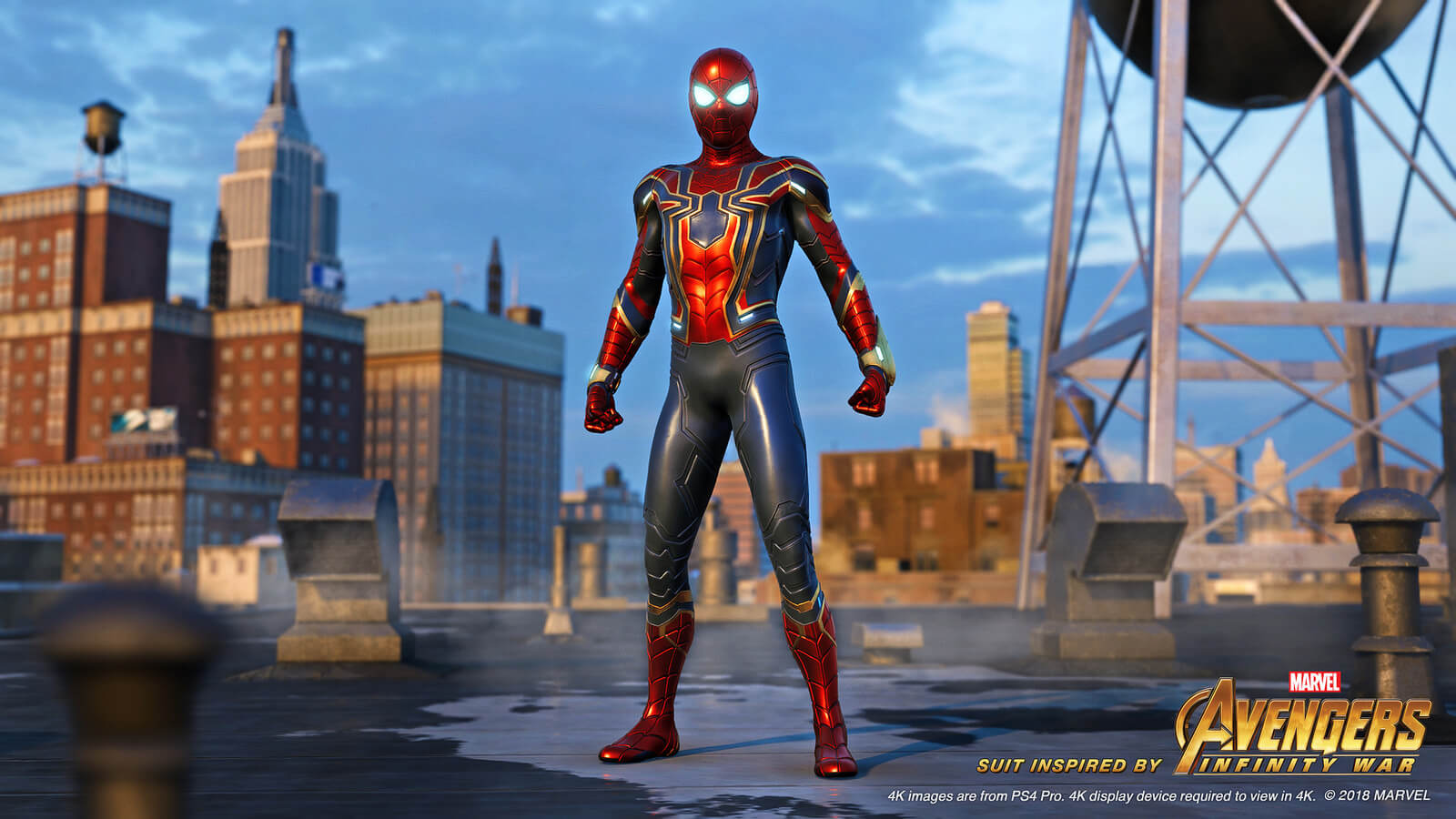Uniforme do Aranha de Ferro em Spider-Man