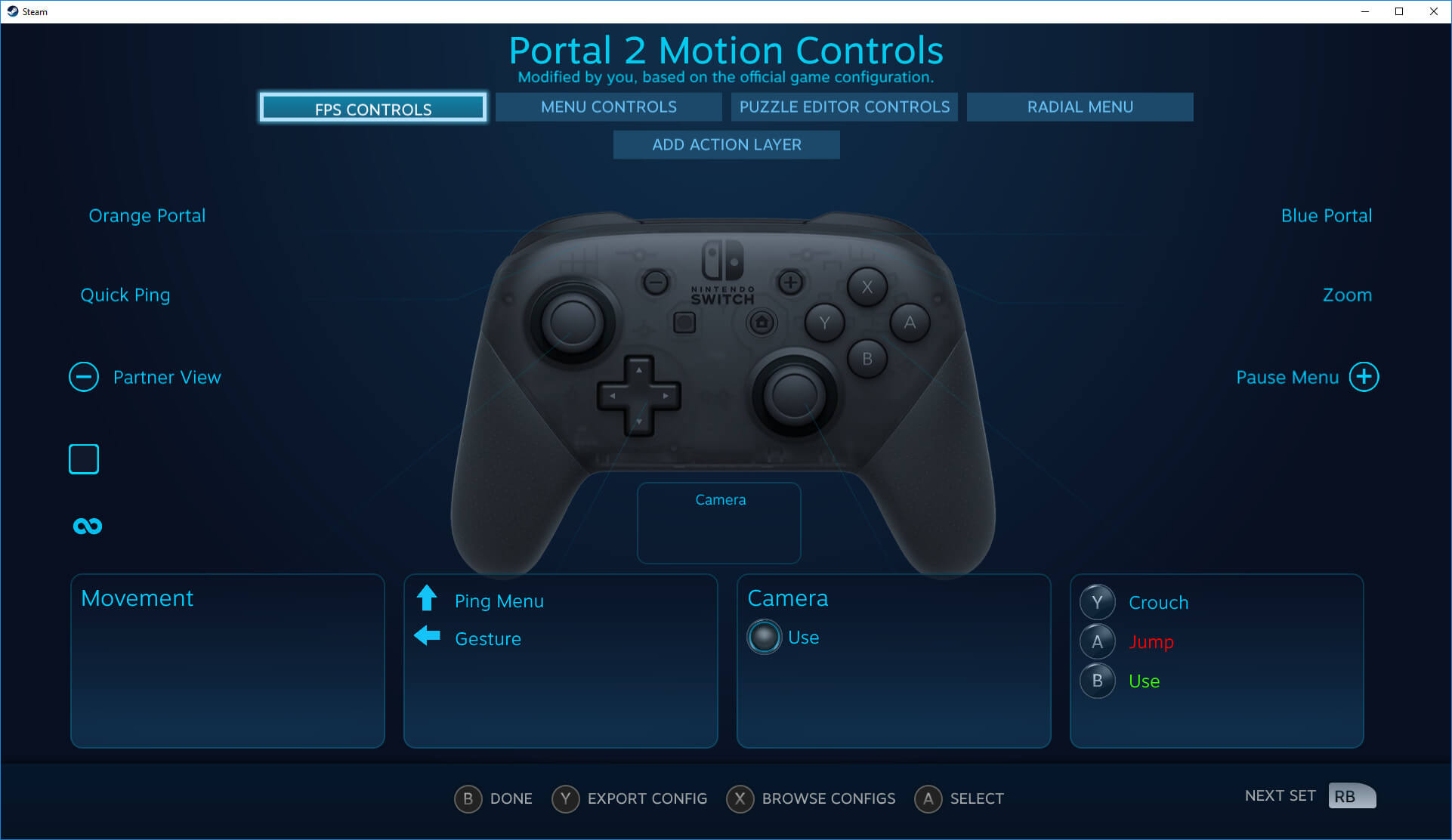 Nintendo Switch Pro Controller no Steam