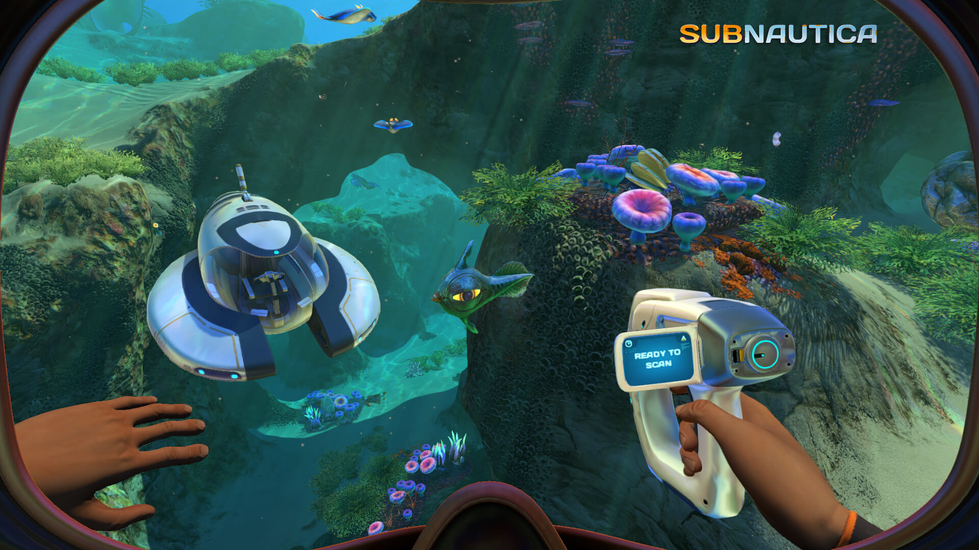 Screenshot de Subnautica