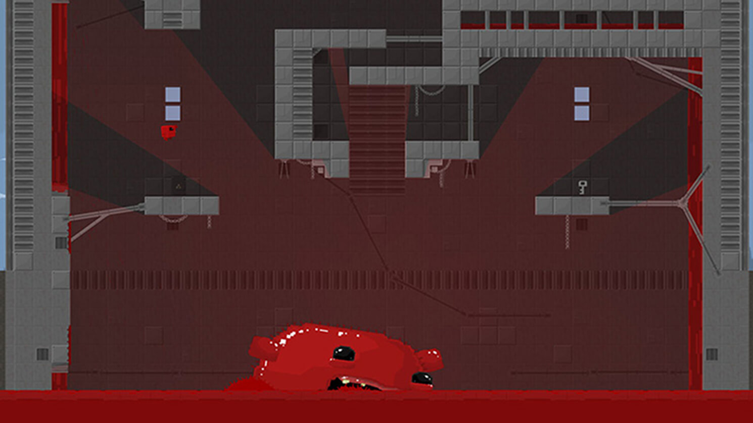 Screenshot de Super Meat Boy