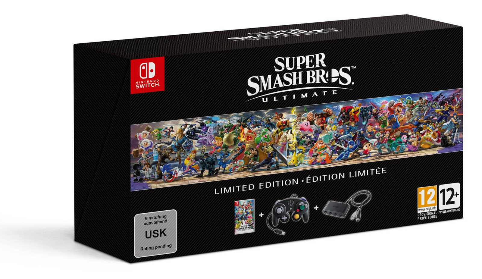 Caixa de Super Smash Bros. Ultimate - Limited Edition
