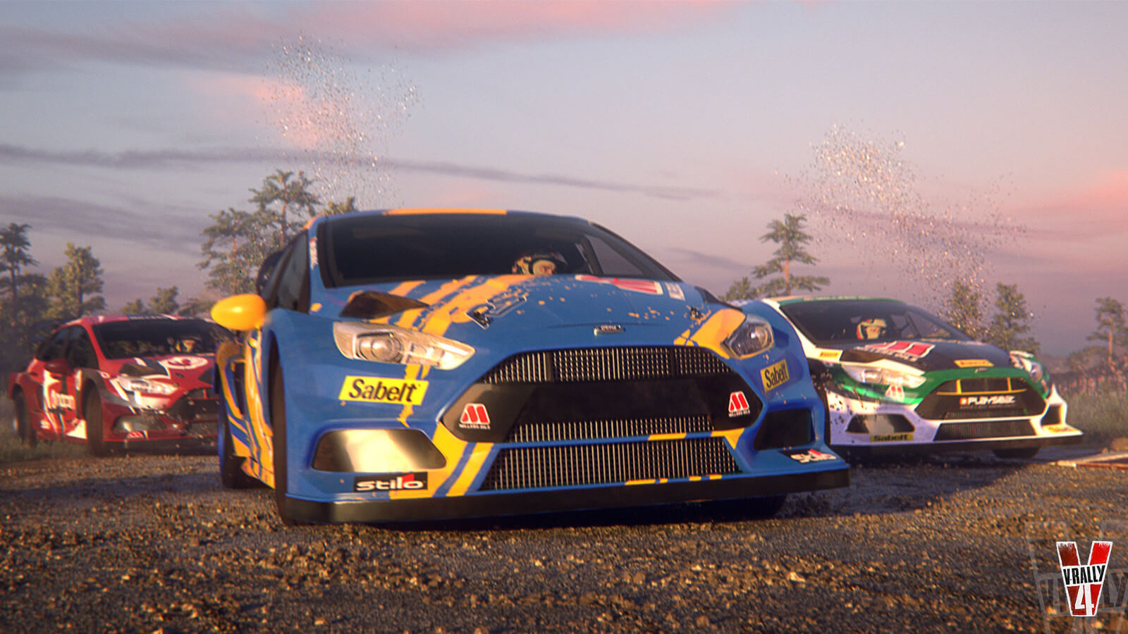 Screenshot de V-Rally 4