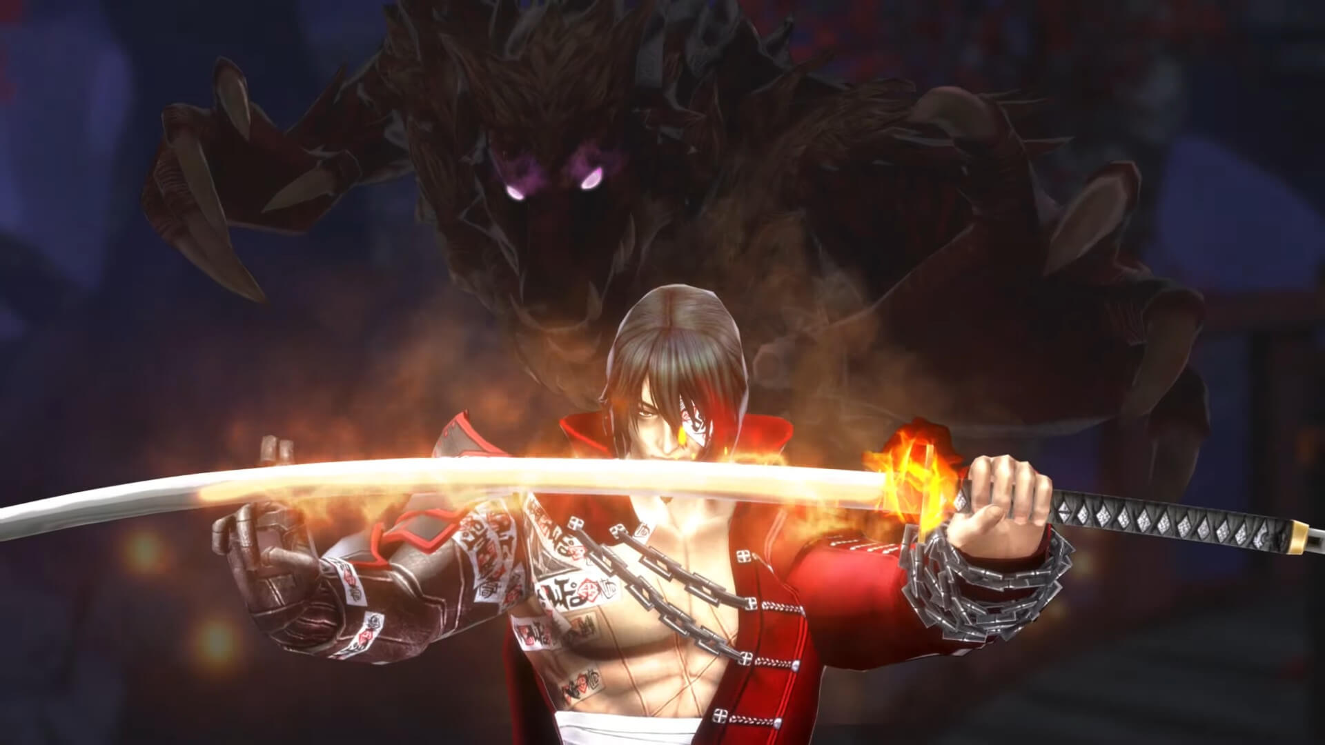 Zangetsu em Bloodstained: Ritual of the Night