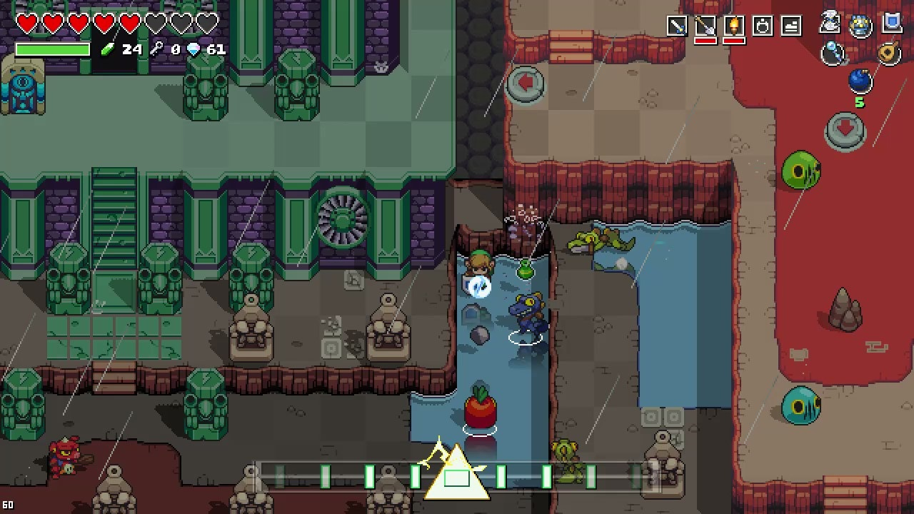 Screenshot de Cadence of Hyrule