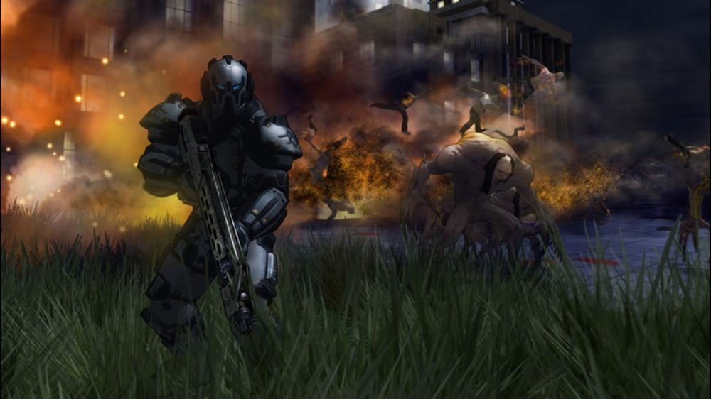 Screenshot de Crackdown 2