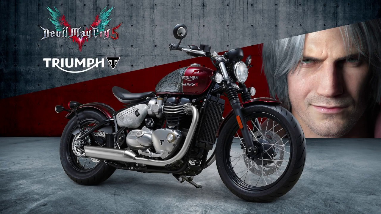 Moto Devil May Cry 5