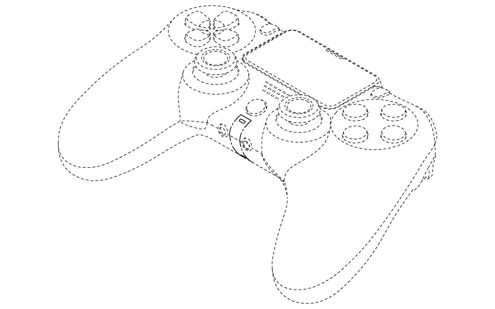 Joystick do PlayStation 5