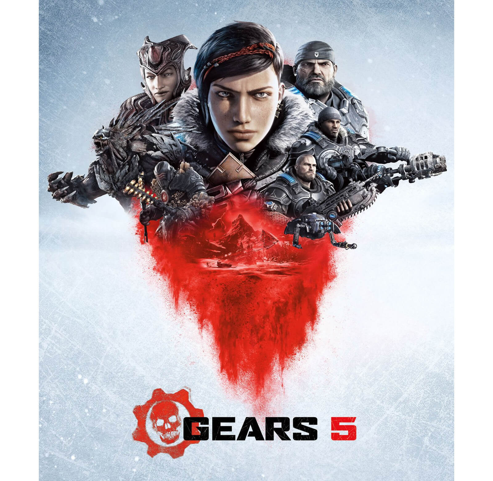 Capa de Gears of War 5