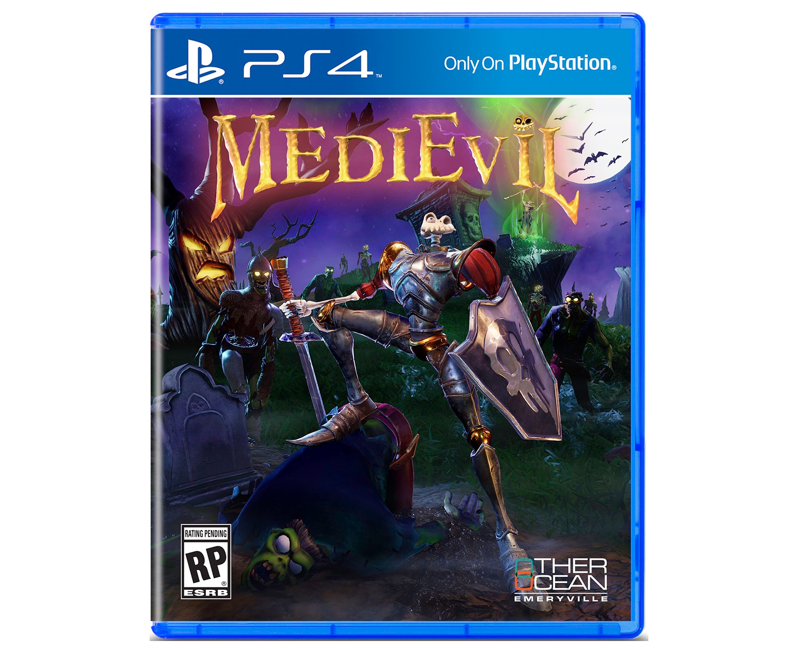 Capa do remake de MediEvil
