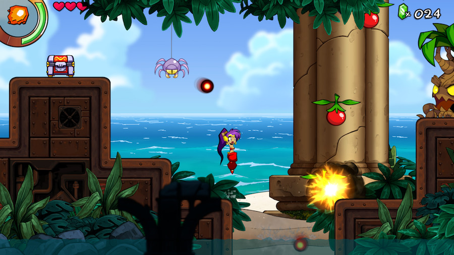 Screenshot de Shantae and the Seven Sirens