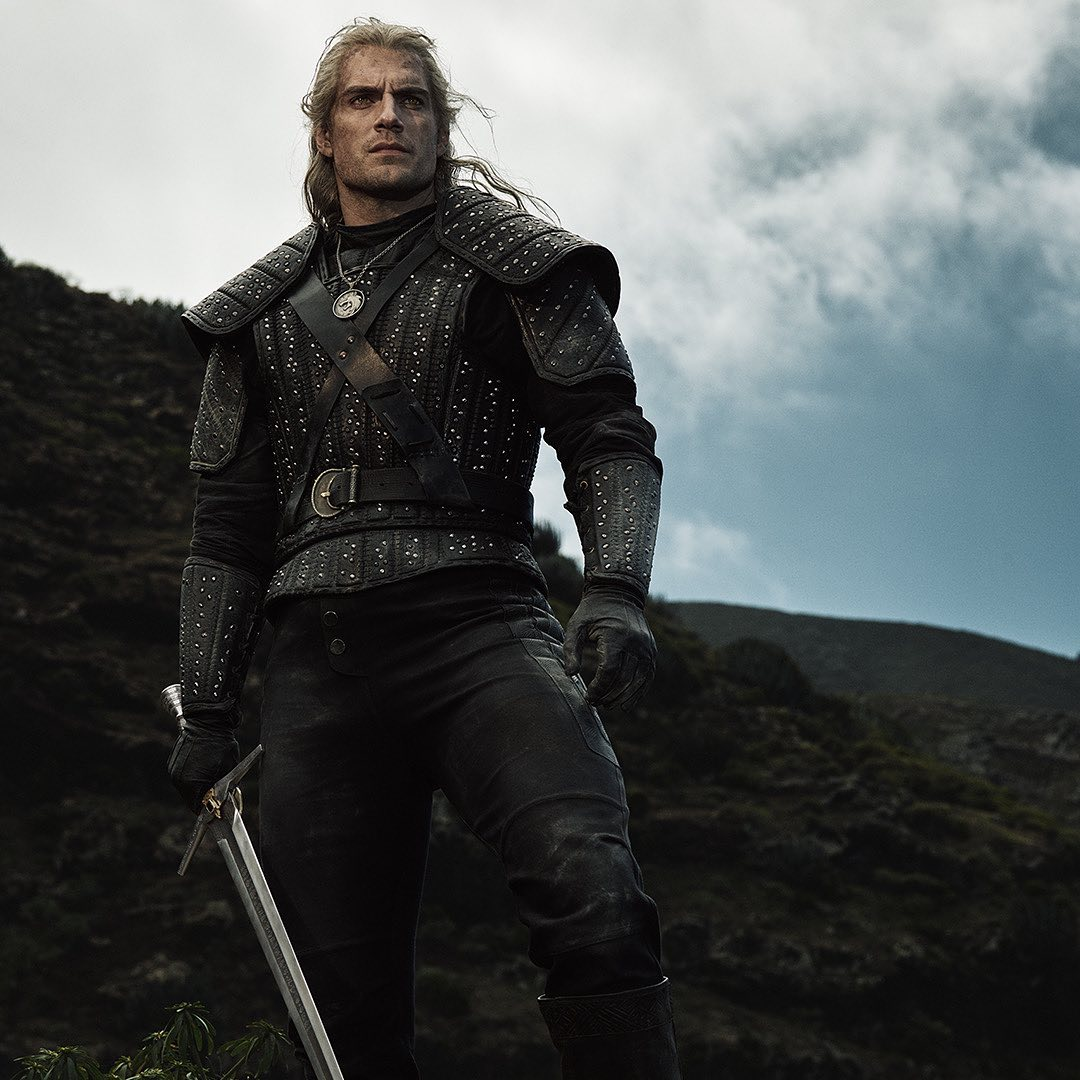 Gerald da série The Witcher