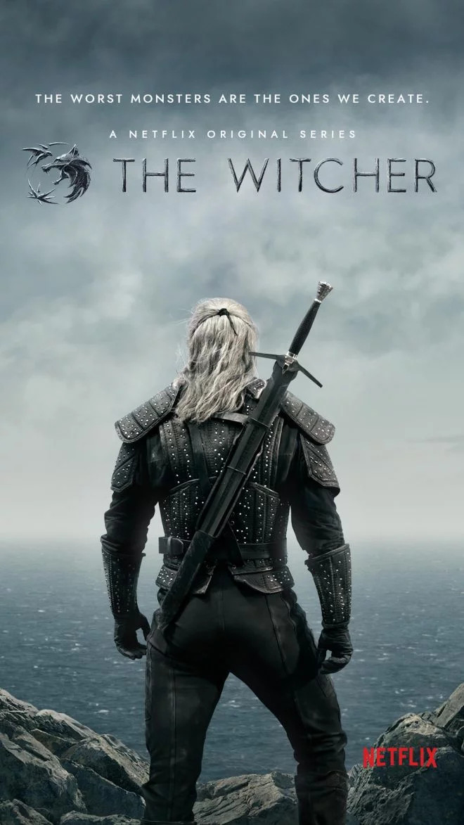 Poster da série The Witcher