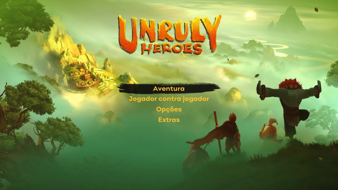 Screenshot de Unruly Heroes