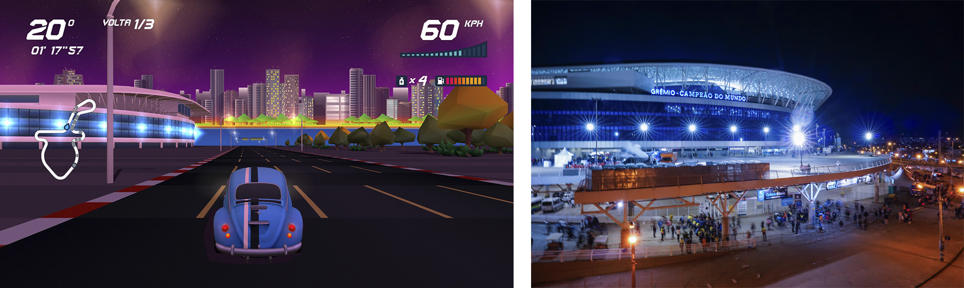 Horizon Chase Turbo – Devs Hometown - Arena do Grêmio