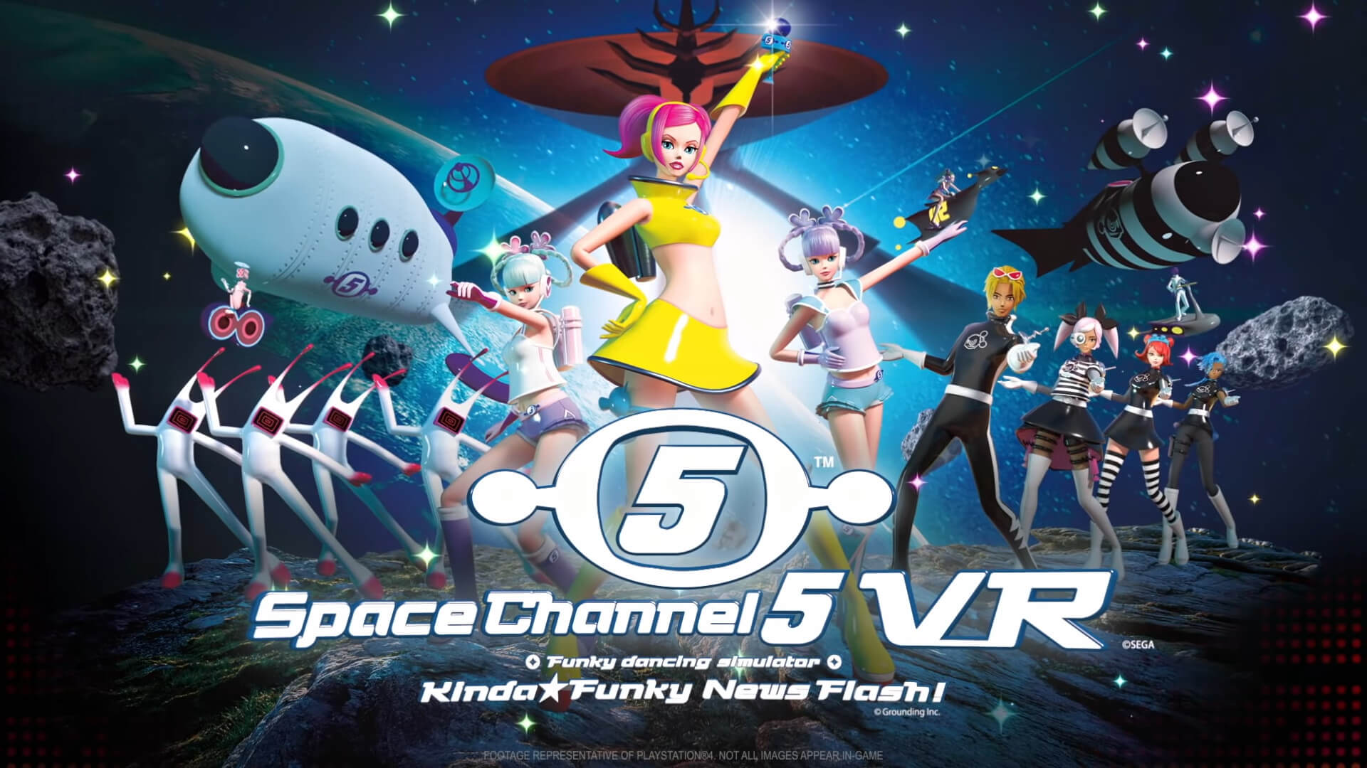 Space Channel 5 VR: Kinda Funky News Flash