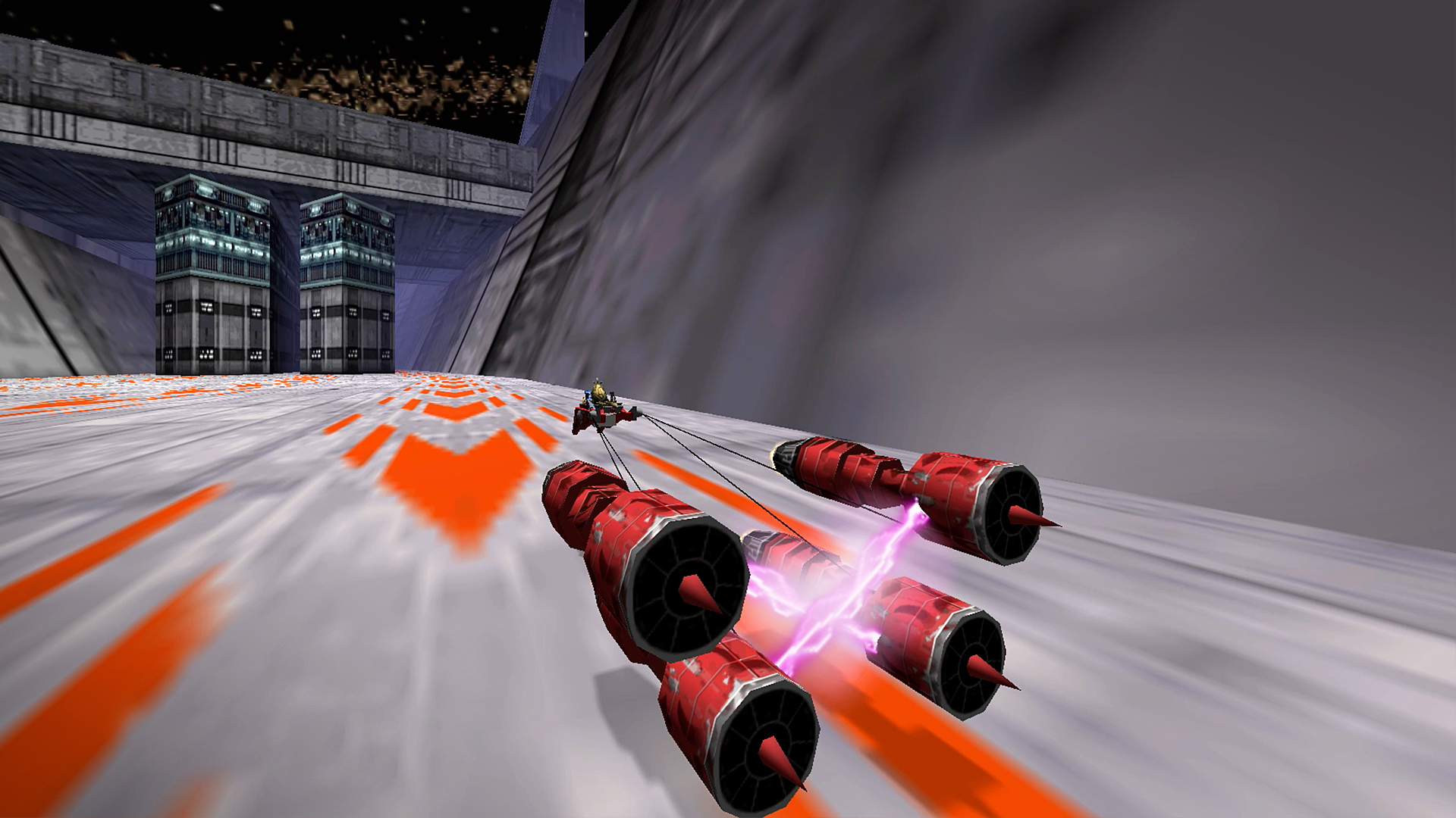 Screenshot de Star Wars Episode I: Racer