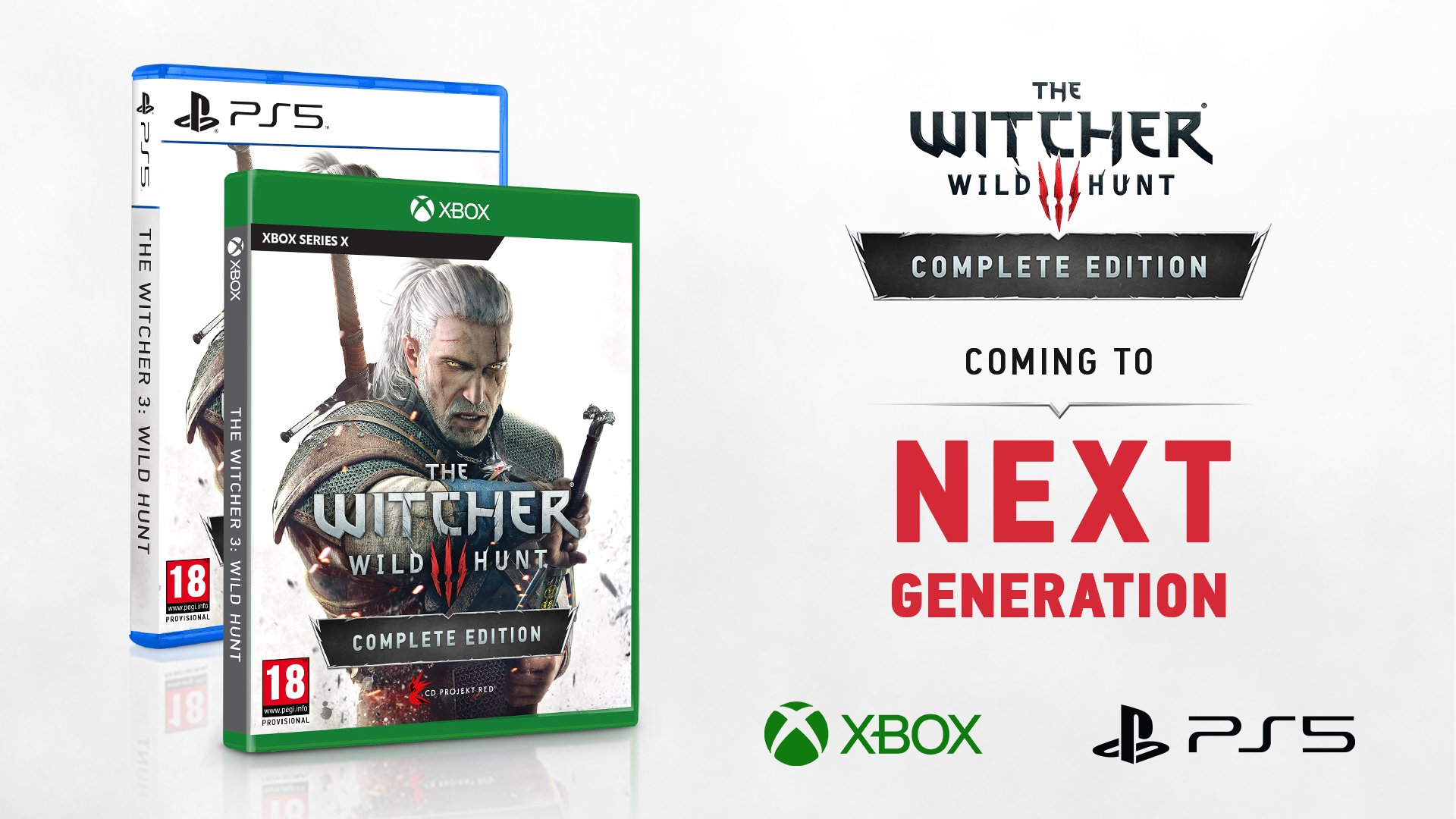 The Witcher 3 para PlayStation 5 e Xbox Series X