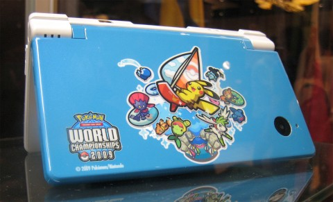 Edição limitado do Nintendo DSi para o campeonato mundial de ...