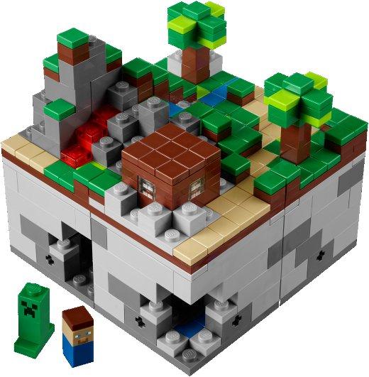 Primeiras imagens do Lego Minecraft Micro World 5243_1
