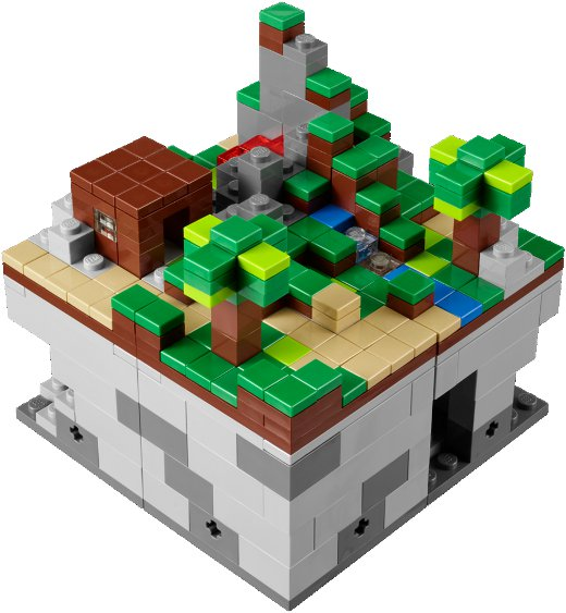 Primeiras imagens do Lego Minecraft Micro World 5243_2