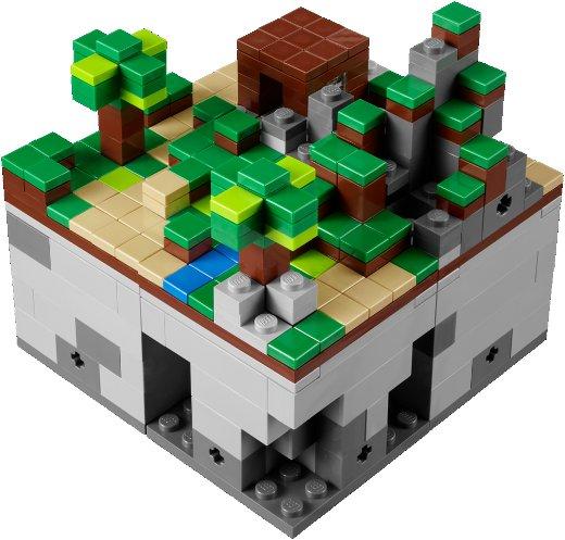 Primeiras imagens do Lego Minecraft Micro World 5243_3