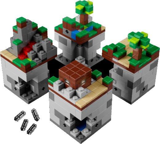 Primeiras imagens do Lego Minecraft Micro World 5243_4