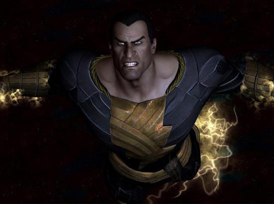 Injustice: Gods Among Us terá a participação do Adão Negro