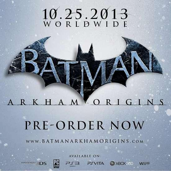 Batman: Arkham Origins é anunciado oficialmente