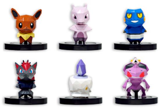 Revelada a segunda série de bonecos para Pokémon Rumble U