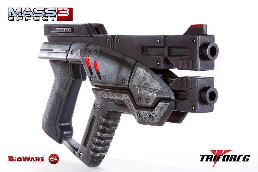 Incríveis réplicas em tamanho real das armas do Mass Effect