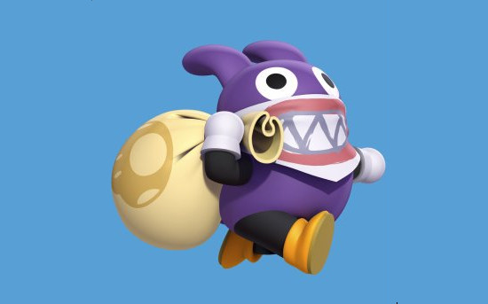 Nabbit será personagem jogável em New Super Luigi U