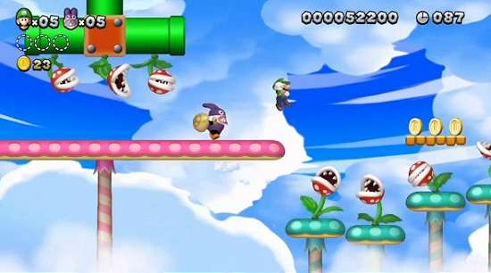 Novo trailer do New Super Luigi U