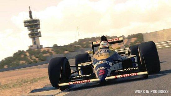 F1 2013 terá modo clássico com carros e pilotos das décadas de 1980 e 1990