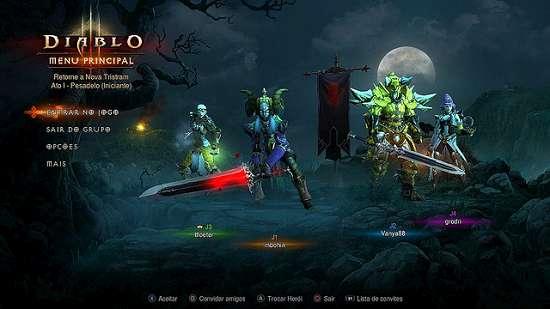 Diablo III: Ultimate Evil Edition para Xbox One está em