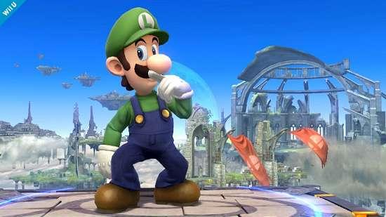 Luigi é confirmado no novo Super Smash Bros.