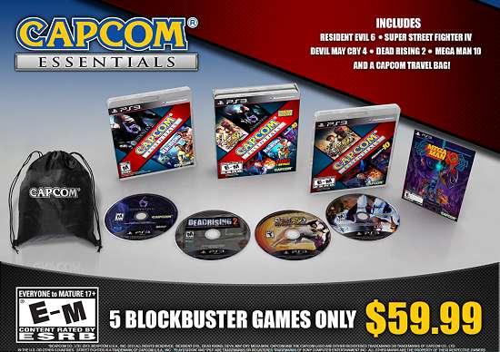 Capcom Essentials é uma coletânea que reúne cinco sucessos da Capcom