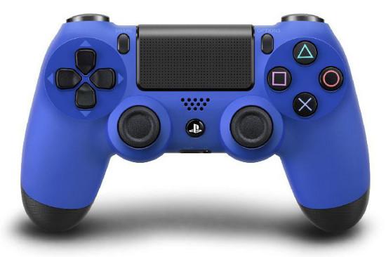 Playstation 4 terá joysticks nas cores azul e vermelho