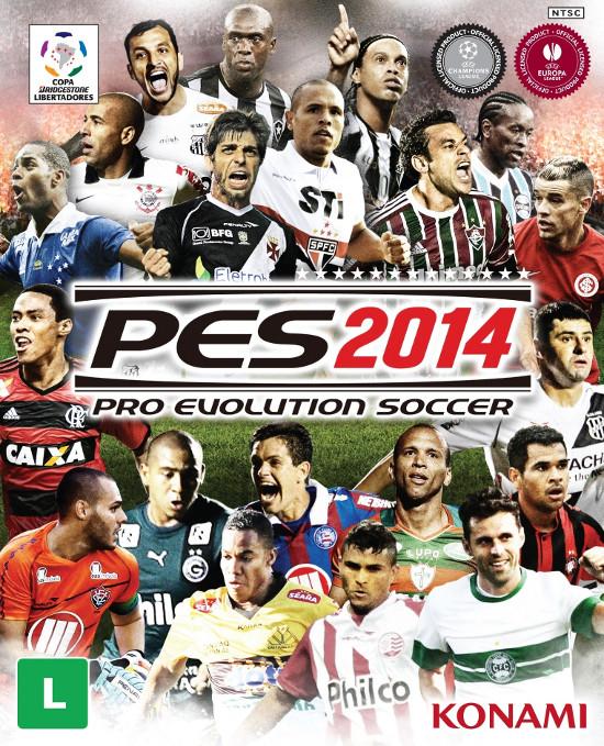 Capa Brasileira do PES 2014