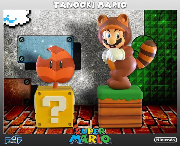 First 4 Figures anuncia estátua do Tanooki Mario