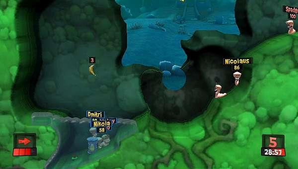 Worms Revolution Extreme para Playstation Vita ganha data de lançamento