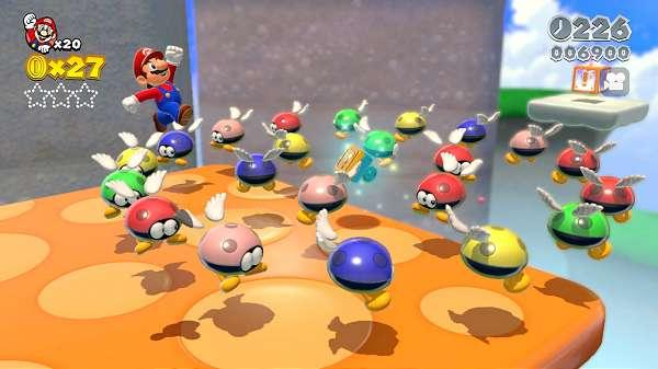 Super Mario 3D World ganha 27 novas imagens