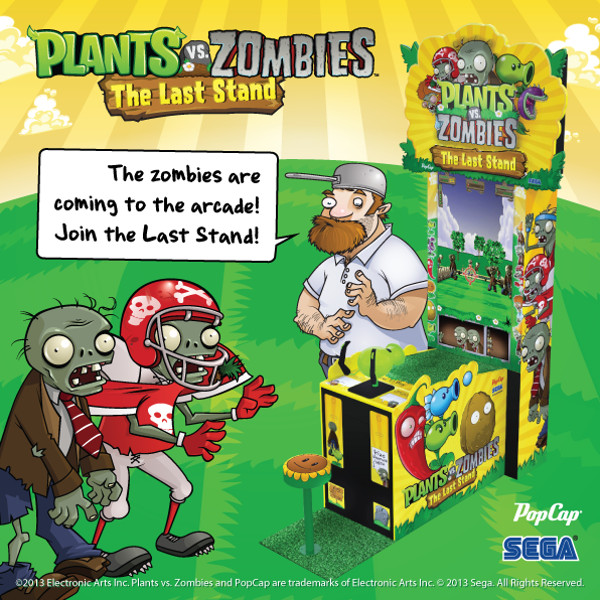 Plants vs. Zombies: The Last Stand ganha primeira imagem do gabinete