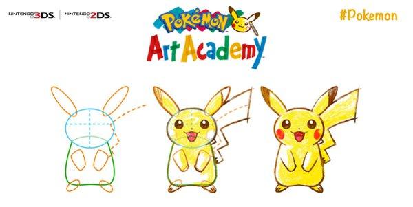 Aprenda a desenhar Pokémons com o Pokémon Art Academy