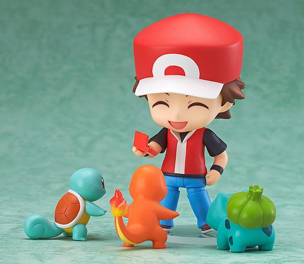 Action Figure Treinador Red Pokémon 4