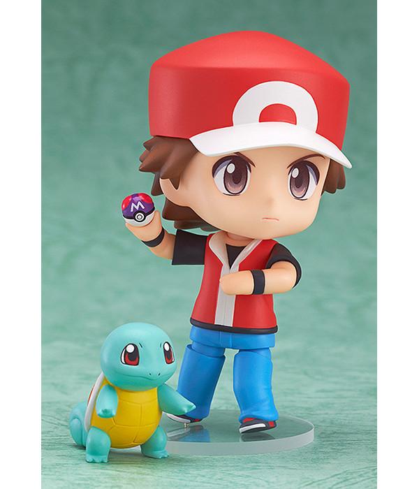 Action Figure Treinador Red Pokémon 3